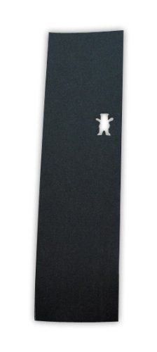 Grizzly Grip The Bear Cut-Out Griptape One Size Black