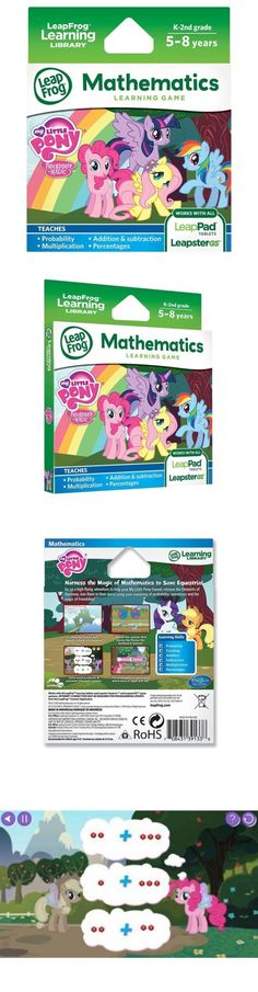 Game Cartridges and Game Books 177916: Leapfrog Learning Game My Little Pony Friendship Is Magic For Leappad... -> BUY IT NOW ONLY: $58.9 on eBay!