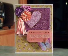Maker's Mart March 2017 Kit, Random Act of KINDNESS by Whimsy Art Cards