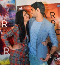 Katrina Kaif and Sidharth Malhotra promoting Baar Baar Dekho