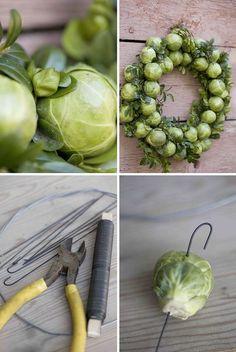 Houd je niet van spruitjes? Hang ze dan gewoon op aan je deur! ;-)