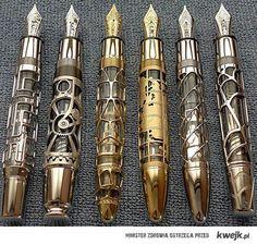 Steampunk Foutain Pens