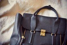 #3.1 Phillip Lim Pashli bag #Black