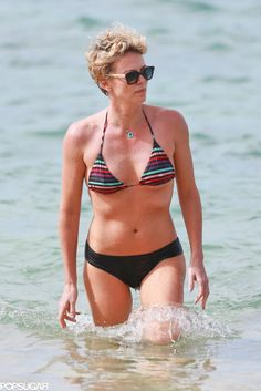 Charlize Theron's Bikini Body Is Heating Up Hawaii: Charlize Theron showed off her smoking hot bikini body during a day on the beach in Hawaii on Monday.