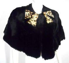 40s cape leopard cape
