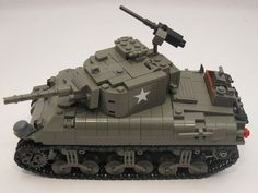 "One of the projects in my Lego Military Bucket List was to eventually redesign my 5 Old Dark Grey M4A1 Shermans. What started out as several ""small"" changes resulted in an almost complete rebuild from the wheels up. My Shermans were originally heav Hey ladies for a limited time if you download the new free game, world of tanks. You will recieve a gamefly gift card worth 50$. Limited time only"
