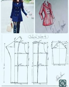 Details about Fashion Womens Pure Slim Suit Jacket Coat Casual One Button Tops Blazer Outwear - Her Crochet Coat Patterns, Dress Sewing Patterns, Clothing Patterns, Coat Pattern Sewing, Skirt Patterns, Pattern Drafting, Blouse Patterns, Fashion Sewing, Diy Fashion