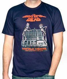 f3d20152 Grateful Dead Men's T-Shirt from Warfield Theatre (San Francisco, CA),.  Wolfgang's