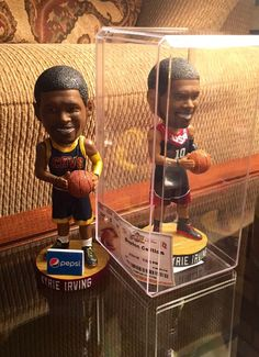 My newest CLE addition.. Limited edition, number 7 of 50. Kyrie Irving USA bobblehead from the @Cavs game! #UncleDrew