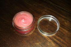 Mes petites tambouilles: Baume à lèvres brillant à la cerise