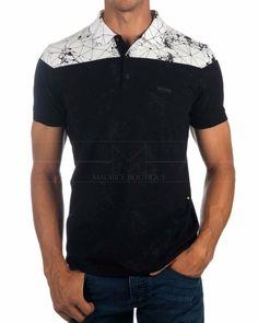 Composición 95% Algodón 5% Elastano ... Hugo By Hugo Boss, Hugo Boss Shirts, Mens Polo T Shirts, Golf T Shirts, Polo Tees, Polo Shirt, Camisa Polo, Moda Junior, T Shirt Time