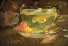 Practical Magic(k): Sage Tisane for Vitality, Wish Making and Spiritual Purification - Evolve + Ascend Flower Tea, Teacup Flowers, Edible Flowers, Flower Petals, My Cup Of Tea, High Tea, Drinking Tea, Tea Time, Tea Party
