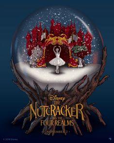 Nutcracker Decor, Nutcracker Christmas, Christmas Art, Nutcracker Movie, Xmas, Disney Movies, Disney Pixar, Wallpaper Natal, Disney Kunst
