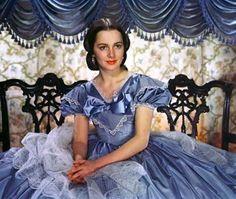 "Olivia de Havilland as Melanie Hamilton Wilkes in ""Gone with the Wind"" (1939)"