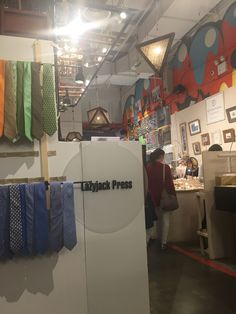 #Ties galore! Lazyjackpress.com Artists & Fleas #chelseamarket #nyc #preppy #fashion #easter #march #menswear#style #cheers
