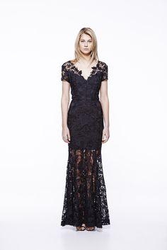 Proposition Lace in Black #eileenkirby #lace #eveningwear #eveninggown #blacktie #prom #formal #elegant