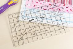 Quick Curve Ruler and Patterns I Am Happy, Pattern Making, Ruler, Dollar Stores, Frugal, Quilting, Bullet Journal, Drop, Patterns
