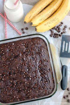 Double Chocolate Banana Cake | Healthy Ideas for Kids