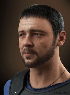 Realistic Men #3D Portraits and Tips for beginners