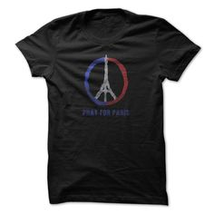 Pray for Paris T-Shirts, Hoodies. BUY IT NOW ==► https://www.sunfrog.com/Political/Pray-for-Paris-71902369-Guys.html?id=41382