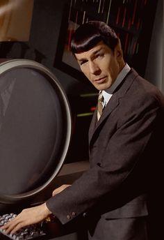 -Really, Jim? Give me some credit. Star Trek Spock, Star Trek Voyager, Star Wars, Star Trek Tos, Star Trek Original Series, Star Trek Series, Star Trek Posters, Star Trek 1966, Star Trek Images