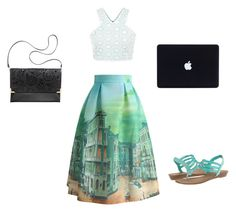 Mint green chic by kyliesue22 on Polyvore featuring polyvore, fashion, style, Chicwish, Madden Girl and H&M