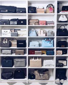 Closet Storage for Purses . Closet Storage for Purses . 51 Bag Closet Ideas for Women Handbag Storage, Handbag Organization, Closet Organization, Organization Ideas, Shoe Organizer, Wardrobe Storage, Closet Storage, Wardrobe Closet, Ideas De Closets
