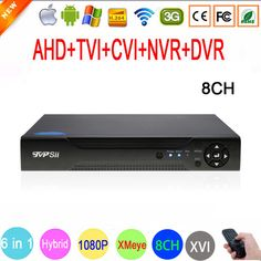 Online shopping for Security & protection with free worldwide shipping - Page 2 Dvr Cctv, Video Surveillance Cameras, Cheap Cameras, Wifi Antenna, Ip Camera, Security Camera, Hd 1080p, Hd Video, Shopping