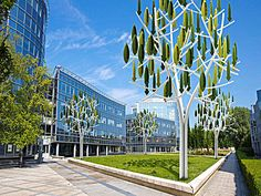 New Silent Wind Tree Turbines Make Energy Production Beautiful ...