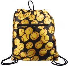 Buying Drawstring Backpack Fastpitch Softball Yellow Ball Discount !! - http://www.buyinexpensivebestcheap.com/14595/buying-drawstring-backpack-fastpitch-softball-yellow-ball-discount/?utm_source=PN&utm_medium=marketingfromhome777%40gmail.com&utm_campaign=SNAP%2Bfrom%2BOnline+Shopping+-+The+Best+Deals%2C+Bargains+and+Offers+to+Save+You+Money   Best Gym Bag, Best Gym Bags, Gym Bag, Gym Bags, Gym Bags For Women, Gym Sports Bags, Private Label, Sporting Goods, Zumba Apparel