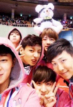 {BTS's J-Hope, Jungkook, Jin, Rap Monster, Jimin, V} #JHope #Jungkook #Jin #RapMonster #Jimin #V #JungHoseok #JeonJungkook #KimSeokjin #KimNamjoon #ParkJimin #KimTaehyung #BTS