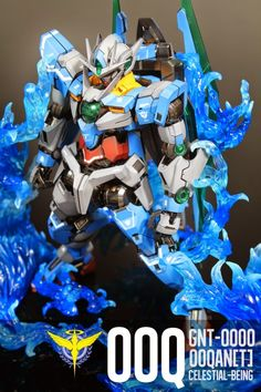 Custom Build: MG 1/100 00 Qan [T] with Special Effects - Gundam Kits Collection News and Reviews