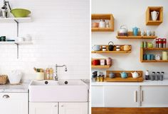A kitchen for the tea and coffee lover.