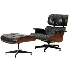 1stdibs | Lounge Chair And Ottoman By Charles Eames