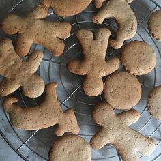 Gingerbread Cookies, Healthy Recipes, Healthy Food, Paleo, Cukor, Sweet, Desserts, Christmas, Gingerbread Cupcakes