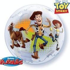 22'' Toy Story Single Bubble Foil Balloon-Packaged
