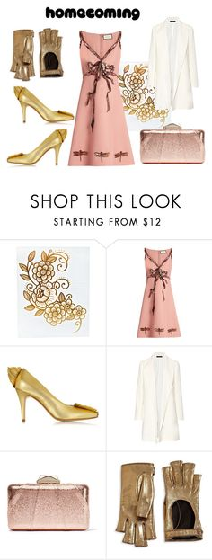 """I am gold!"" by perlabe ❤ liked on Polyvore featuring Gucci, Zoe Lee, The Row and KOTUR"