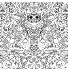 To print this free coloring page «coloring-adult-hibou», click on the printer icon at the right