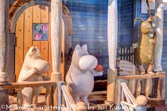 """moomory: """"The Moomin House - Created by Tuulikki Pietilä, Tove Jansson, and Pentti Eistola. Featured at the Moomin Museum in Tampere, Finland. """" Oh wow I've only seen pictures of the Moomin dollhouse. Moomin House, Moomin Shop, Moomin Books, Moomin Valley, Tove Jansson, Nordic Design, Miniature Dolls, Wonders Of The World, Finland"""