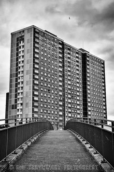Pinkston estate tower blocks in Sighthill, Glasgow
