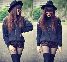 Gahhh! I love her looks!! --- I GIVE YOU MY HEART (by Tess Lively) http://lookbook.nu/look/4482949-I-GIVE-YOU-MY-HEART