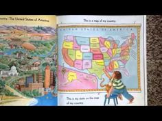 Me on the map by joan sweeney read aloud