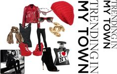 """City Edge"" by karencorreira on Polyvore"