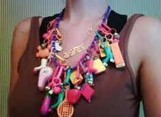 1980's Charm Necklace