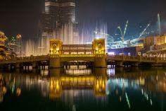 Water fontane at Burj Khalifa by Thorsten Frisch on 500px