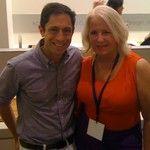 Jonathan Adler and Barbara Segal  @Kohler party| #neocon12