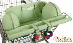 Alternatives to putting infant carrier on shopping cart