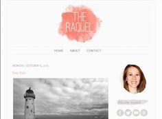 Raquel Blogger Template - Luvly Marketplace   Premium Design Resources #blogger #template