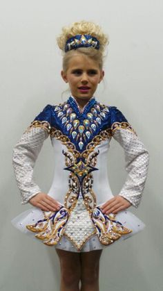 Doire Designs Irish dance dress