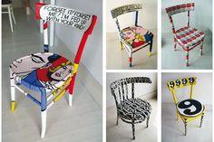 Come riutilizzare le vecchie sedie della nonna